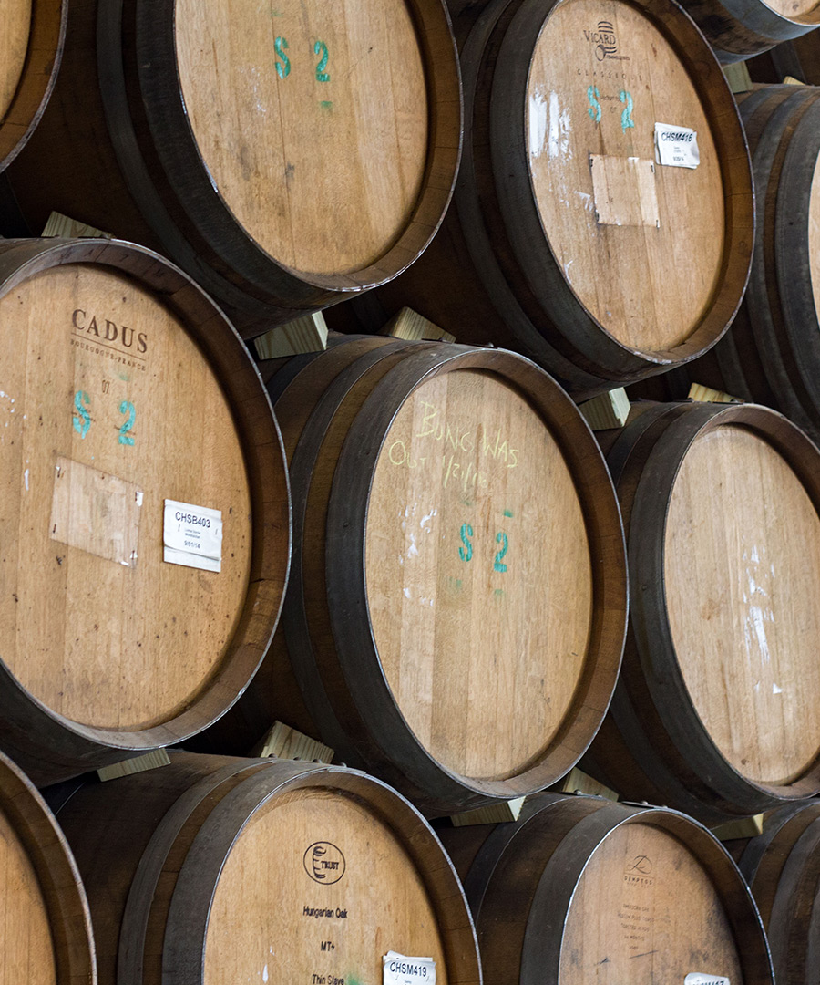 The Woodlands - Barrel Aging Program